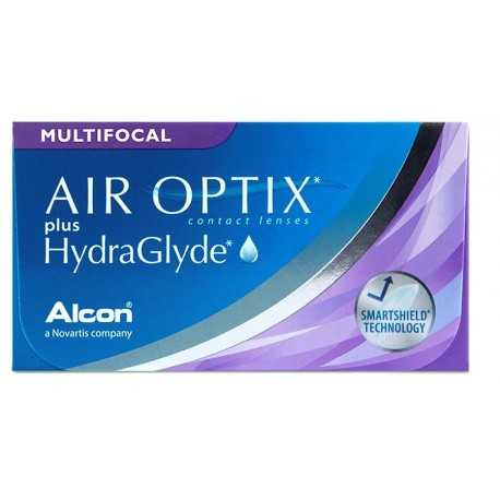 AIR OPTIX® Plus Hydraglyde MULTIFOCAL 3 contacts