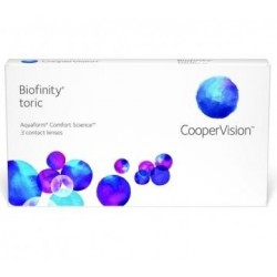 Biofinity Toric 3 contact lenses