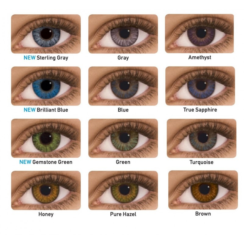 Non Prescription Colored Contacts >> Freshlook Colorsblends Non Prescription Colored Contact Lenses