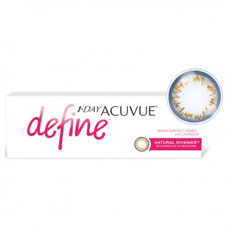 Acuvue 1-DAY define NATURAL SPARKLE